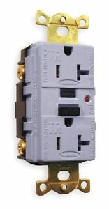 Hubbell Kellems Gfci Receptacle 20a Amps Nema Configuration 5 20r Outlet
