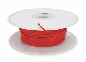 Tempco 14 Awg Ptfe High Temperature Lead Wire Silver Plated Copper 300vac