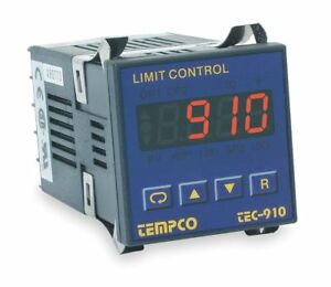 Tempco Temperature Controller 1 16 Din Size 90 To 250vac Input Voltage Switch
