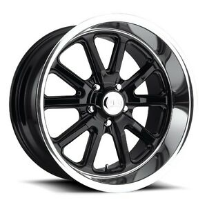 20x8 Us Mag Rambler U121 5x5 0 Et1 Gloss Black Rims New Set Of 4