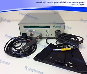 Linvatec E9000 Hall Surgical Controller W Mc9840 Shaver C9863 Footswitch