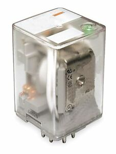 Dayton Plug In Relay 11 Pins Octal Base Type 10a 277vac 30vdc Contact