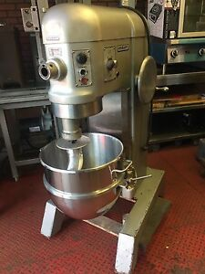 Hobart H600 Dough Bakery 60 Qt Mixer W Bowl Hook 1 5 Hp 1 Ph 230 Volt