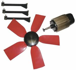 Multifan 24 Corrosion Resistant Exhaust Fan Kit Number Of Blades 5 1 Phase