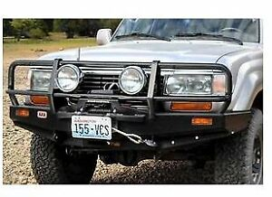 Arb 3411050 Deluxe Bull Bar Fits 90 97 Land Cruiser 80 Series 96 97 Lexus Lx450