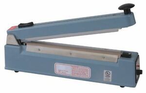 Hand Operated Bag Sealer Table Top 8in 2led9