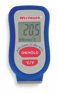 Westward Thermocouple Thermometer 1 Input Type K 2ltc6