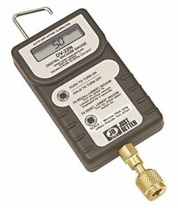 Jb Industries Digital Micron Gauge With Case Lcd Dv 24n
