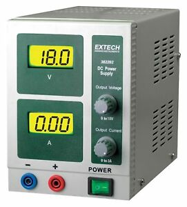 Extech Digital Single Output Dc Power Supply 382202