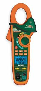 Extech Clamp On Digital Clamp Meter 58 deg To 1832 deg f Temp Range 1 1 4