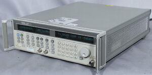 Hp agilent 83751a 2 20 Ghz Synthesized Sweep Generator W opts 1e1