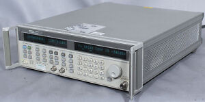 Hp agilent 83751a 2 20 Ghz Synthesized Sweep Generator W opts 1e1 1ed