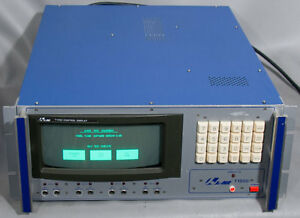 Aeroflex Jcair T1200 Control Display Unit Cdu arinc 429 Bus Analyzer T1200b