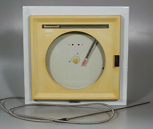 Honeywell Pn Ar15adn2135 Single pen Chart Recorder W thermocouple Despatch Oven
