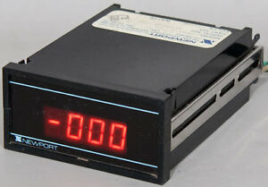 Newport 203a 3 3 1 2 Digit Dc Voltmeter With Bcd Output Panel Meter 1 999 Mv