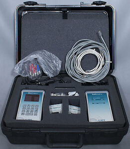 Scope Communications agilent Wirescope 155 Cable Tester 850 1300nm Cat5e cat5
