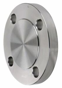 Forged 304 Stainless Steel Blind Flange Welded 1 1 2 Pipe Size S1034bl014n
