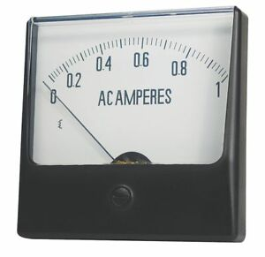 Analog Panel Meter Dc Current 0 100 Dc A 12g428