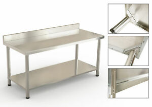 60 X 24 Stainless Steel Work Table Kitchen bar restaurant laundry Commercial
