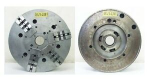 21 2 3 Jaw Combination Power Chuck A2 15 Spindle Mount