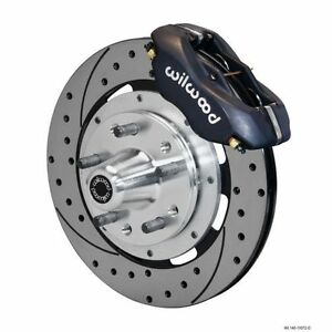 Wilwood 140 11072 d Forged Dynalite Big Brake Front Brake Kit hub