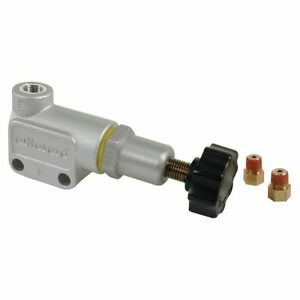 Wilwood 260 8419 Brake Proportioning Valve 1 8 27 Npt Inlet Size Clear Anodize