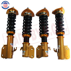 Coilovers Suspension Spring Shock For Forester Impreza Legacy 02 07 Saab 9 2x