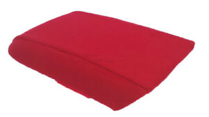 Fits 05 09 Ford Mustang Red Fabric Center Console Lid Armrest Cover Protector