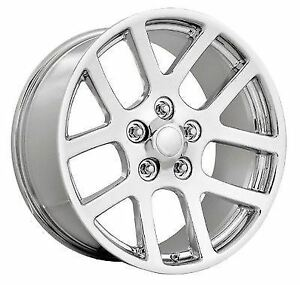1 New 20x9 5x5 5 5x139 7 Dodge Ram Srt10 25 Chrome Replica Wheel Rim
