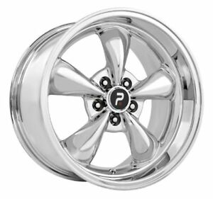 1 New 18x10 5x114 3 Mustang Bullet Replica 45 Chrome Wheel Rim
