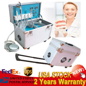 Mobile Dental Delivery System Movable Portable Treatment Unit 4h curing Light