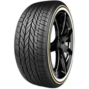 235 55r17 Vogue Custom Built Radial Viii 99h Gold White Tire qty 4