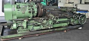 Warner Swasey 4a Saddle type Heavy Duty Turret Lathe