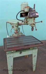 Walker Turner Rockwell Delta Radial Drill Press
