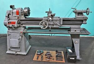 South Bend 13 X 40 Engine Lathe With 8 4 jaw 6 3 jaw Chuck