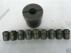 Used Balas Collet Adapter With C8 Collet Set