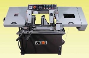 Victor 10 Automatic Horizontal Band Saw Auto 10hs New