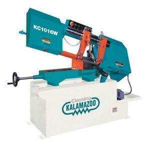 Clausing Kalamazoo 10 Wet Cutting Horizontal Band Saw Brand New