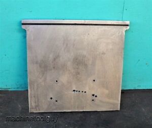 Industrial T slot Metal Angle Plate 22 5 X 23 Table