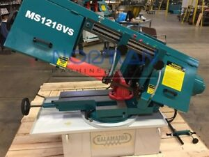 Clausing Kalamazoo 12 X 18 Horizontal Swivel Head Mitering Band Saw Ms1218vs