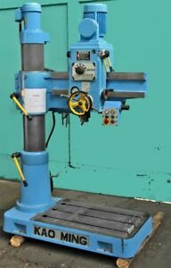 Kao Ming supermax Kmr 700ds Radial Drill