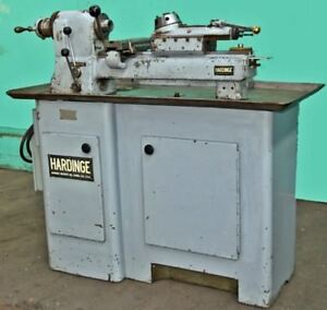 Hardinge Model Dv 59 Precision Second Operation Turret Lathe