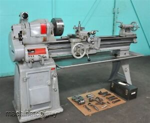 South Bend Engine Lathe 13 X 40 With 9 3 jaw Chuck Tool Post Holders