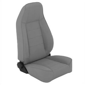 Smittybilt 45011 Seat Front Factory Style Replacement With Recliner For Jeep Cj