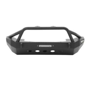 Smittybilt 76806 Xrc Front Bumper With Winch For 2007 2015 Jeep Jk Wrangler