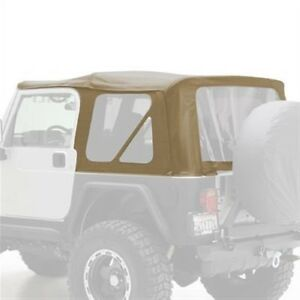 Smittybilt 9970217 Soft Top Org mfr Replacement With Tinted Windows For Jeep Tj