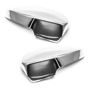 Chrome Plated Abs Door Mirror Covers For 2013 2015 Ford Escape