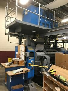 2000 Goss Universal Web Offset Printing Press With Enkel Shaftless Splicers