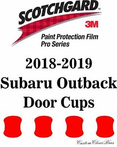 3m Scotchgard Paint Protection Film Pro Series Fits 2018 2019 Subaru Outback