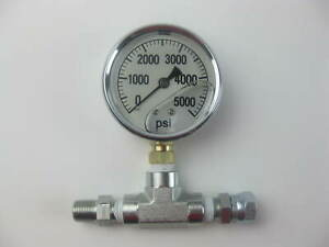 Pressure Gauge Assembly For Airless Sprayers Same As Titan 730 397